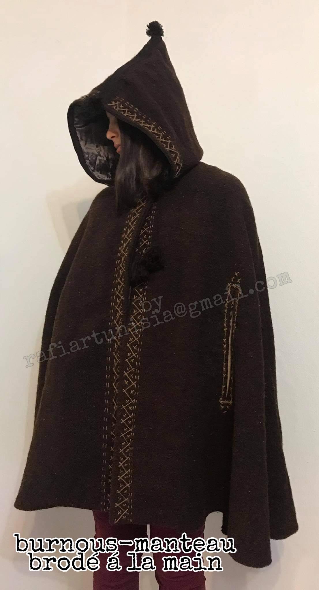 burnous manteau